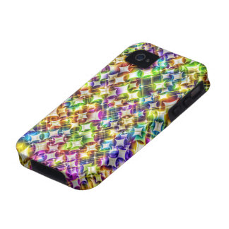 Funky Stars green iPhone4 Case