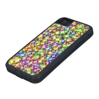 funky stars green iPhone 5/5S cases