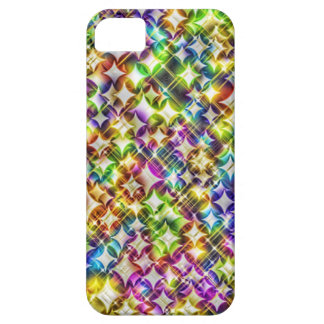 Funky Stars green Cover For iPhone 5/5S