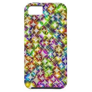 Funky Stars green iPhone 5/5S Case