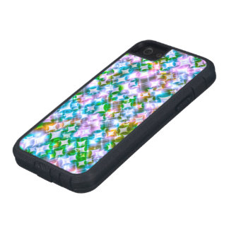 Funky Stars pink iPhone 5/5S Cases