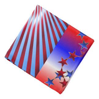 Funky Stars & Stripes Head Kerchiefs