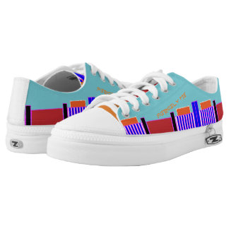 Funky Streets Low Tops Printed Shoes