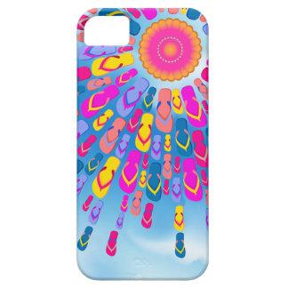 Funky Summer Sun Flip-Flops Rays iPhone 5 Cases