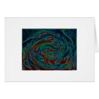 funky swirls card
