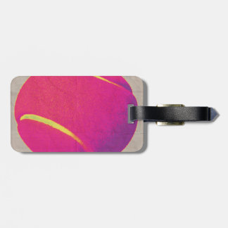 Funky Tennis Ball 2 Luggage Tag