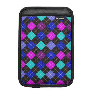 Funky Trendy Retro Abstract Pattern iPad Mini Sleeve