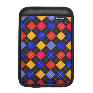 Funky Trendy Retro Abstract Pattern Sleeve For iPad Mini