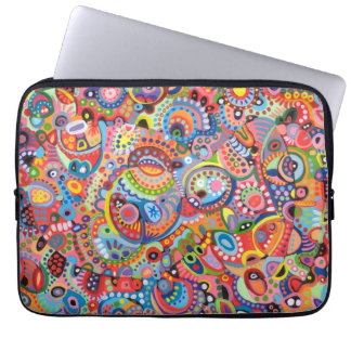 Funky Tribal Abstract Laptop Sleeve