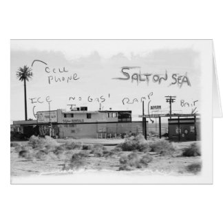 Funky Vacation - Salton Sea Card