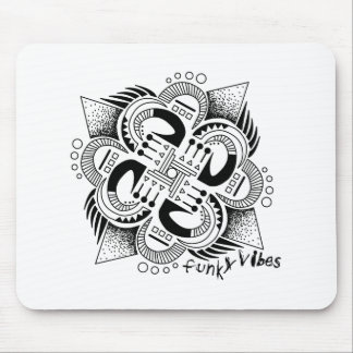 Funky Vibes Mouse Pad