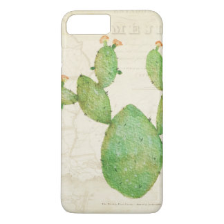 Funky vintage cactus iphone case