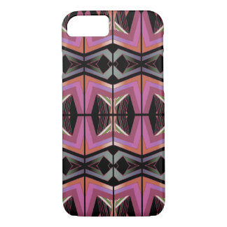 Funky Vintage Style Geometric Pattern iPhone 8/7 Case