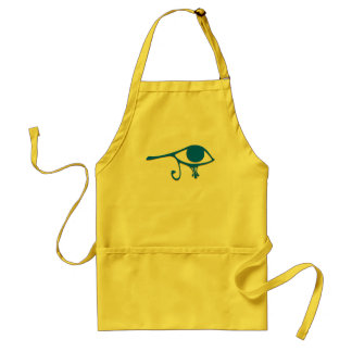 Funky Wadjet Blue Gold Aprons