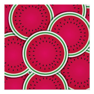 Funky watermelon slices