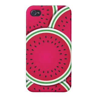 Funky watermelon slices iPhone 4/4S cases
