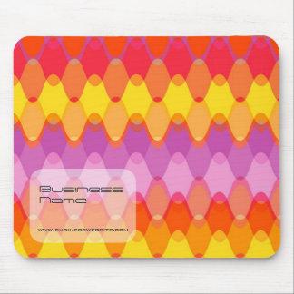 Funky Waves 01 Custom Gift Designer Mousepad