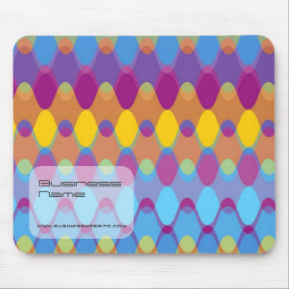 Funky Waves 02 Custom Gift Designer Mousepad