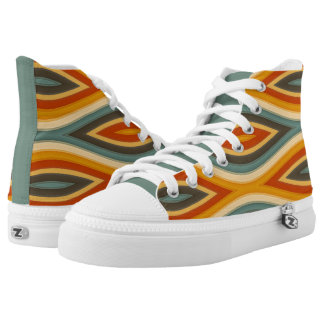 Funky Waves Designer Colours High Top Kicks