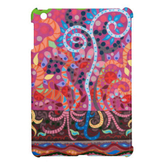 Funky Whimsical Abstract iPad Mini Case