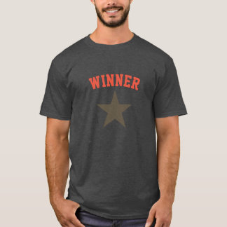 Funky Winner Star / Superstar T-Shirt Top