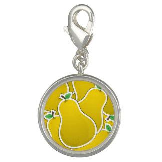 Funky yellow pear
