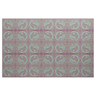 Funky Yin-Yang Kaleidoscope Fabric