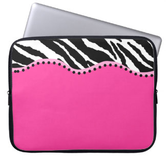 Funky Zebra Laptop Sleeve