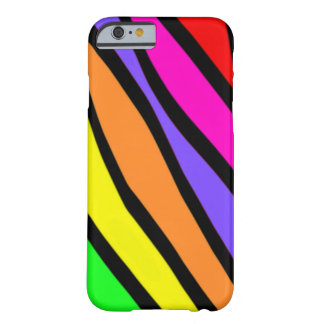 Funky Zebra Stripes Barely There iPhone 6 Case