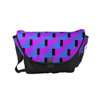 Funky Zig Zag Pattern 4Julie Commuter Bag