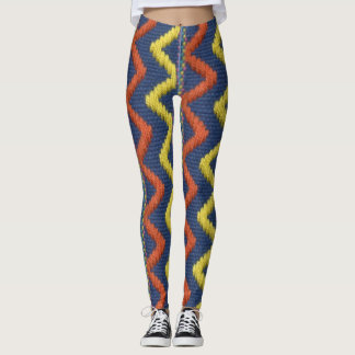 Funky Zigzag Pattern Leggings