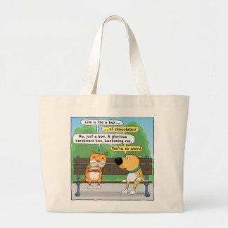 Funn Cat and Dog Tote Bag