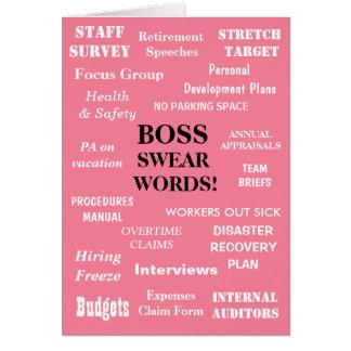 Funniest Female Boss Birthday Joke Add A Caption Card