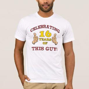 Funny 16th Birthday For Boys T Shirt