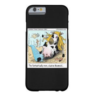 Funny 1/2 Cow 1/2 Mermaid iPhone 6 Case Barely There iPhone 6 Case