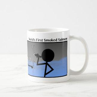 Funny 1st Smoked Salmon Stickman Mug - 110
