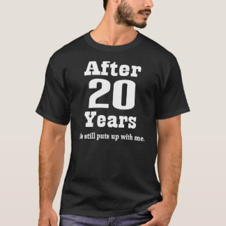 Funny 25th Anniversary Gift For Him Tee