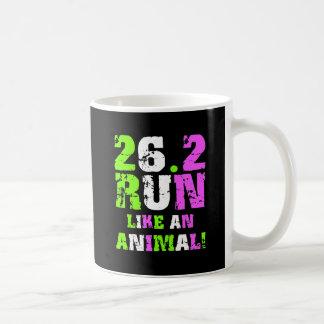 Funny 26.2 marathon coffee mug