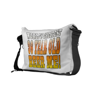 Funny 36th Birthdays Worlds Greatest 36 Year Old Courier Bag
