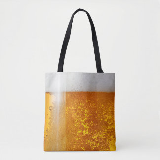 Funny 3-d Beer bubble tote
