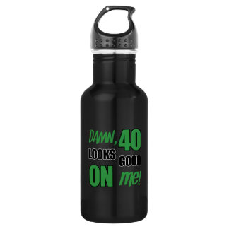 Funny 40th Birthday Gag 532 Ml Water Bottle