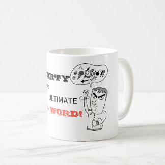 Funny 40th Birthday Mug FORTY The Ultimate F Word