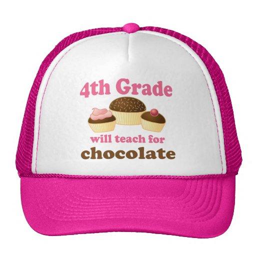 Funny 4th Grade Teacher Hat