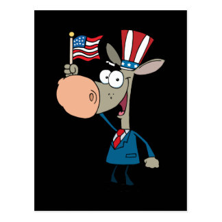 Funny 4th July Cartoon Postcard