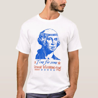 Funny 4th of July George Washington Humor Summer T-Shirt