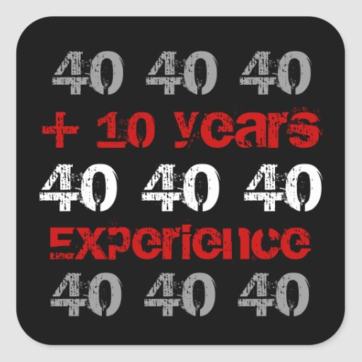 Funny 50th Birthday - 50 Plus 10 Years Experience