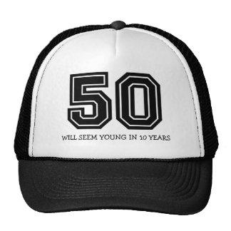 Funny 50th Birthday Cap