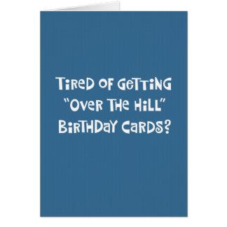Funny 50th Birthday Greeting Card