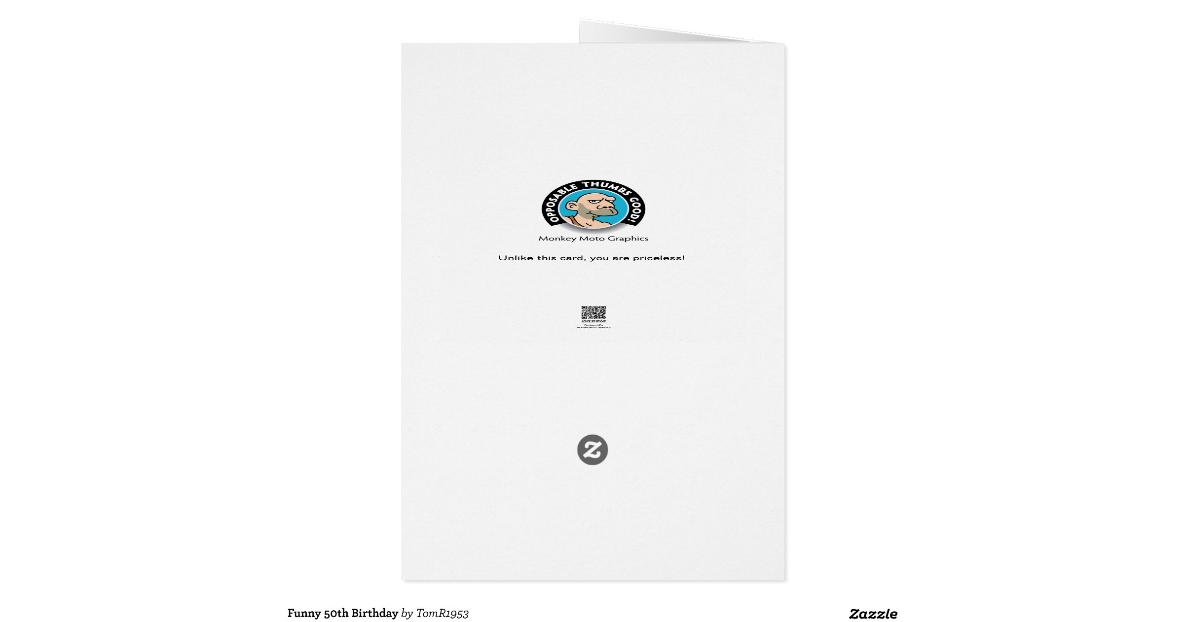 Snap Funny 50th Birthday Greeting For Him Card Zazzle Photos On