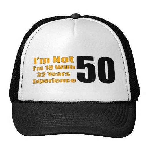 Funny 50th Birthday Hat